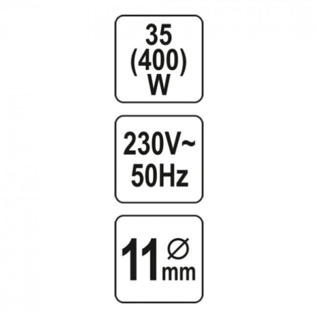 YATO YT-82401 ΠΙΣΤΟΛΙ ΘΕΡΜΟΚΟΛΛΑΣ 35(400)W