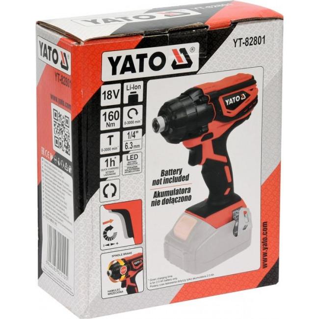 YATO YT-82801 ΠΑΛΜΙΚΟ ΚΑΤΣΑΒΙΔΙ 18V SOLO