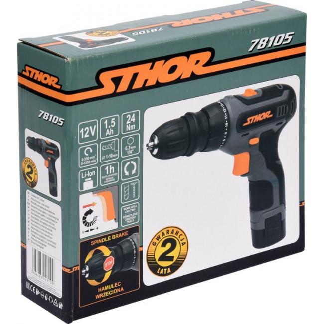 STHOR 78105  ΔΡΑΠΑΝΟΚΑΤΣΑΒΙΔΟ 12V, 24 Nm, 1X1.5Ah
