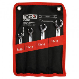 YATO YT-0143 ΣΕΤ ΡΑΚΟΡΟΚΛΕΙΔΑ CrV 6140  4 ΤΕΜΑΧΙΩΝ