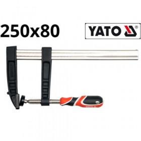 YATO YT-6446 ΣΦΙΓΚΤΗΡΑΣ ΜΑΡΑΓΚΩΝ 250x80ΜΜ