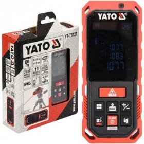 YATO YT-73127 ΑΠΟΣΤΑΣΙΟΜΕΤΡΟ LASER 60Μ IP65