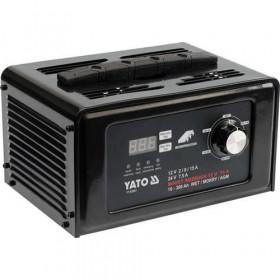 YATO YT-83051 ΦΟΡΤΙΣΤΗΣ & ΕΚΚΙΝΗΤΗΣ LCD 12-24V