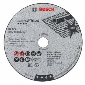 BOSCH ΔΙΣΚΟΣ ΚΟΠΗΣ INOX ΓΙΑ GWS 10.8-76 V-EC