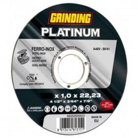 ΔΙΣΚΟΣ ΚΟΠΗΣ ΙΝΟΧ 115x1 PLATINUM grinding