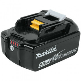 MAKITA BL1860B 18V 6.0AH LI-ON ΜΠΑΤΑΡΙΑ ORIGINAL WITH INDICATOR