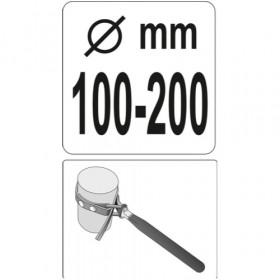 YATO YT-0825 ΦΙΛΤΡΟΚΛΕΙΔΟ ΙΜΑΝΤΑ 100-200MM