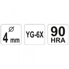 YATO YT-3725 ΤΡΥΠΑΝΙ ΓΥΑΛΙ-ΚΕΡΑΜΙΚΑ Φ4
