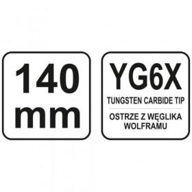 YATO YT-3740 ΧΑΡΑΚΤΗΣ-ΣΗΜΑΔΕΥΤΗΡΙ ΚΑΡΒΙΔΙΟΥ 140mm