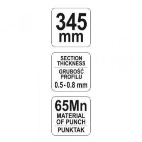 YATO YT-5131 ΠΕΝΣΑ ΔΙΑΤΡΗΣΗΣ ΠΡΟΦΙΛ 345mm