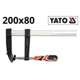 YATO YT-6445 ΣΦΙΓΚΤΗΡΑΣ ΜΑΡΑΓΚΩΝ 200x80ΜΜ