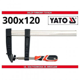 YATO YT-6449 ΣΦΙΓΚΤΗΡΑΣ ΜΑΡΑΓΚΩΝ 300x120mm