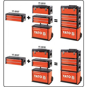 YATO YT-09101 ΕΡΓΑΛΕΙOΦΟΡΕΑΣ ΤΡΟΧΗΛΑΤΟΣ