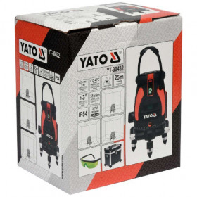 YATO YT-30432 ΑΛΦΑΔΙ LASER GREEN 5 ΓΡΑΜΜΩΝ 25m