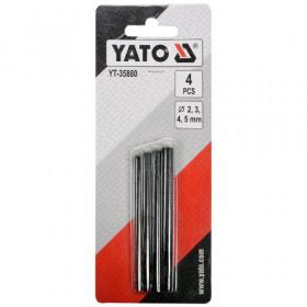 YATO YT-35880 ΣΕΤ ΣΓΡΟΜΠΙΕΣ 2,3,4,5 mm