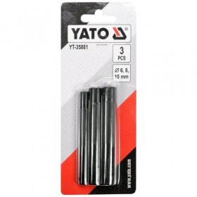 YATO YT-35881 ΣΕΤ ΣΓΡΟΜΠΙΕΣ 6,8,10ΜΜ