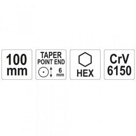 ΥΑΤΟ ΥΤ-47150 ΠΟΝΤΑ CR-V 6.0mm