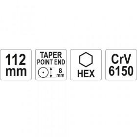 ΥΑΤΟ ΥΤ-47151 ΠΟΝΤΑ CR-V 8.0mm