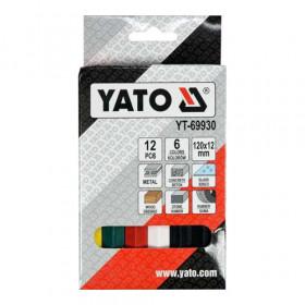 YATO YT-69930 ΚΙΜΩΛΙΑ ΣΕΤ 12ΤΕΜ