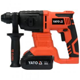 YATO YT-82770 ΠΝΕΥΜΑΤΙΚΟ ΠΙΣΤΟΛΕΤΟ 18V SDS PLUS 1X3Ah