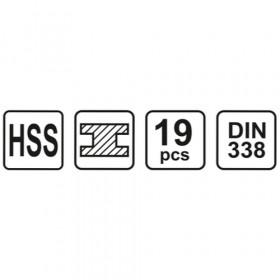 STHOR 21999 ΣΕΤ ΤΡΥΠΑΝΙΑ HSS-G 13 ΤΕΜ