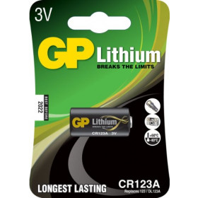 GP PHOTO LI CR123A-B1 ΜΠΑΤΑΡΙΑ 3V